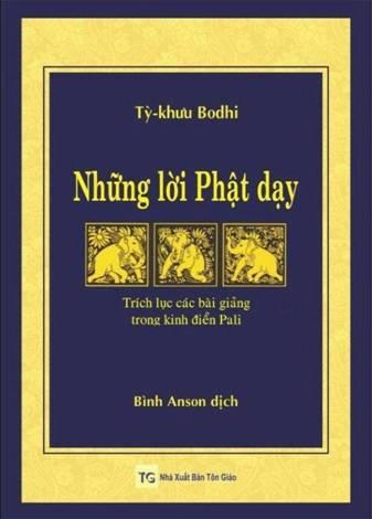 Những lời Phật dạy – trích lục các bài giảng trong kinh điển Pali