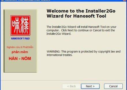 Hanosoft 3.0: Phần mềm từ điển Hán Nôm