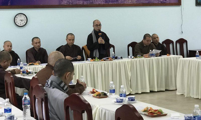 Trường Trung Cấp Phật Học Đà Nẵng tổ chức buổi họp Bổn sư, Y chỉ sư của các Tăng Ni sinh năm học 2020-2021, niên khoá 2019-2022.